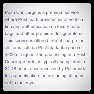 Other - About Luxury items you purchase on Poshmark...