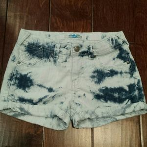 Imperial Star Other - Girls Tie Dye Shorts