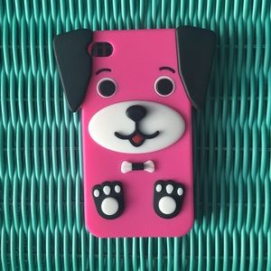 Accessories - Pink Dog iPhone 4/4s Case❤️