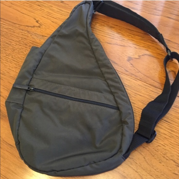 Nylon LL Bean Cross Body Travel Bag