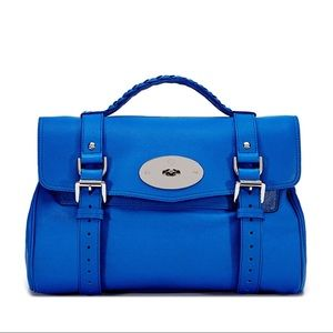 Mulberry Handbags - 💋HP❤️Small Alexa Polished Buffalo Leather Satchel