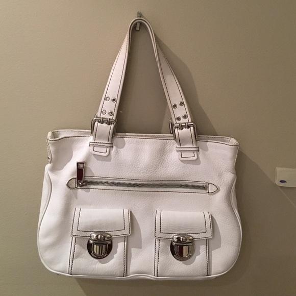 441f46e220 Marc Jacobs Stella White Pebbled Leather Handbag. M_57491d1313302a718b0110cf