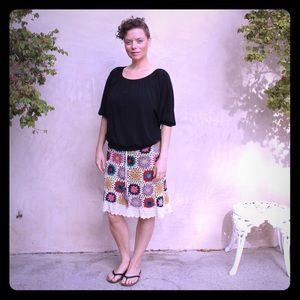 Soul Flower Dresses & Skirts - Lindsay Crochet Skirt Soul Flower