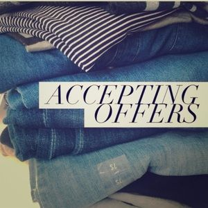 Other - Accepting Reasonable offers 💙💙