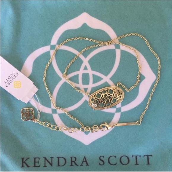 12429f6f33094 Kendra Scott Jewelry | Sale Free Shipping Dollie Necklace | Poshmark