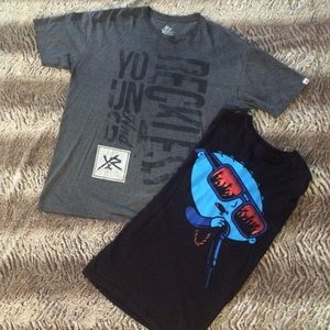 Young & Reckless Other - Men's XL T-Shirt Bundle