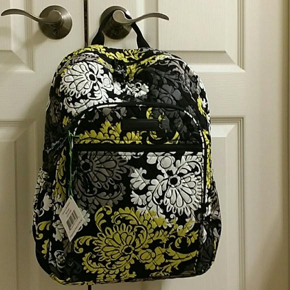 e59e32975ef9 Nwt Vera Bradley baroque campus backpack. M 573fc893f0137de8cc025eef