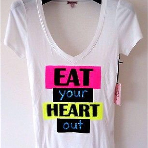 31 off juicy couture tops eat your heart out graphic for What s a couture pop