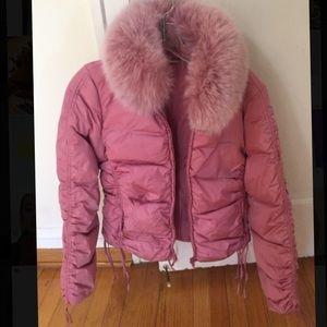 Blumarine  Jackets & Blazers - Blumarine pink puffy coat