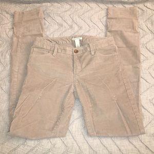 Banana Republic Corduroy Pants size 27
