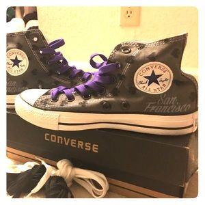 Converse - Custom High Tops.