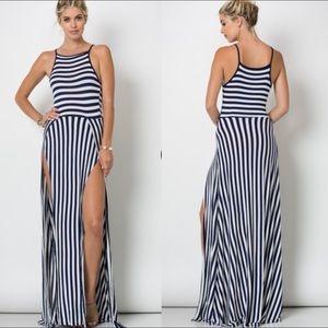 Dresses & Skirts - SALE Spaghetti Strap Double Slit Maxi