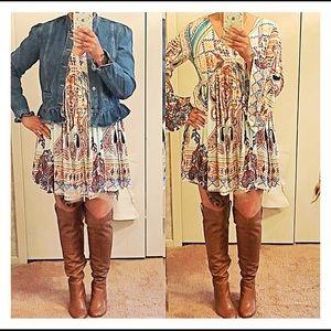 Dresses & Skirts - ❤HP❤Peasant Dress