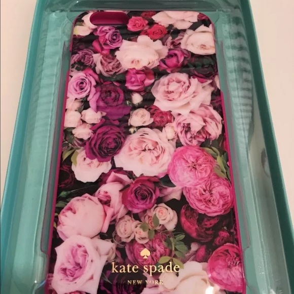 online store ff8a1 8c44c Kate Spade Floral Inlay iPhone 6 Plus case