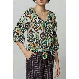 Anthropologie Vanessa Virginia sveta blouse Sz XS