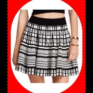 Stella & Jamie Dresses & Skirts - Stella & Jamie Vienne Geometric Patterned Skirt