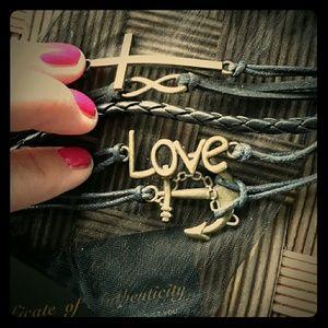 Ashley Bridget Jewelry - Ashley Bridget LOVE Bracelet ??