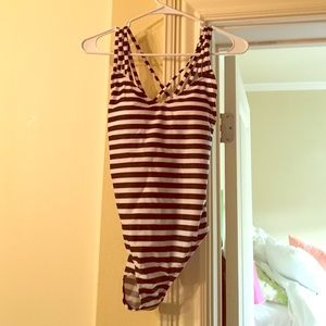 Never worn adorable one piece bathing suit!