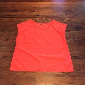 XXL Old Navy neon orange lightweight top