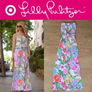f15f54711139 Lilly Pulitzer. 🆕Lilly Pulitzer for Target Nosie Posey maxi dress. NWT