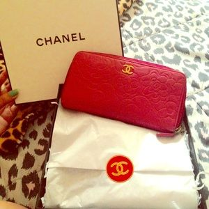 CHANEL rose Wallet. FINAL PRICE