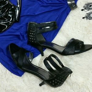 Maurices Shoes - *ADDITIONAL PICS* Black studded heels