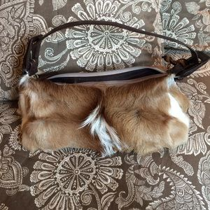 Aqua Madonna Handbags - Antelope purse. Aqua madonna. Brown tan and white