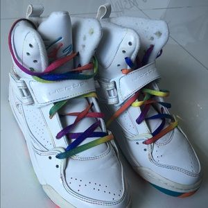 Limited edition rainbow Jordans