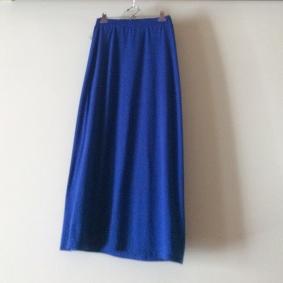 55 forever 21 dresses skirts cobalt blue cotton