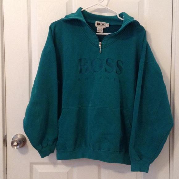 8fbd812b9 Hugo Boss Tops | Boss America Vintage Sweatshirt | Poshmark