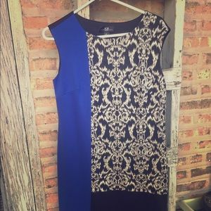 Colored panel dress, size L, very cute on!