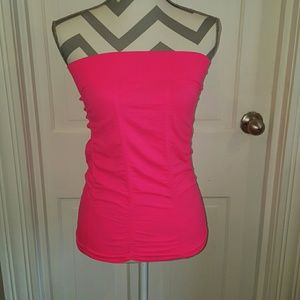 Tops - Nwt Pink Tube Top