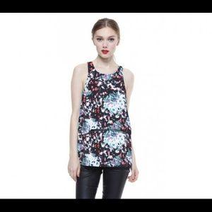 Cooper & Ella Tops - Cooper & Ella printed sleeveless top.  Size L.