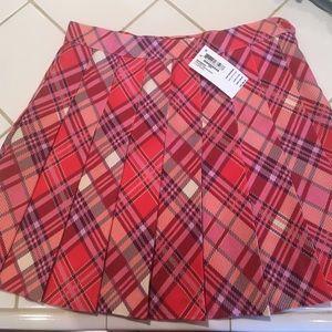 American Apparel Plaid Tennis Skirt (NWT)
