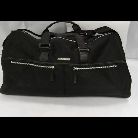 e3b622ed26 Versace black travel bag   gym bag   carry on. M 5740b8ec291a3560df0097fe