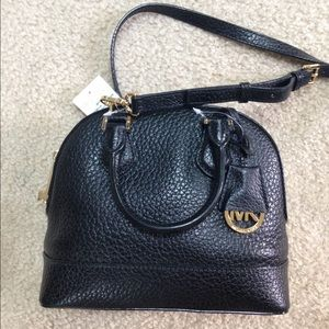 Michael Kors Small Smythe Satchel Black NWT