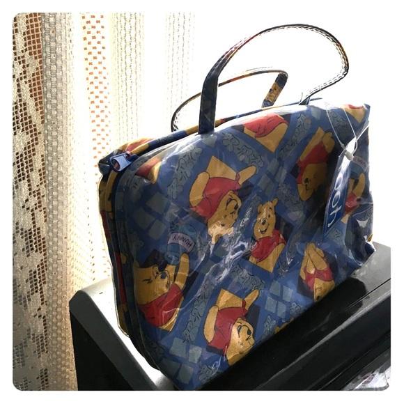 NWT Pooh Bear Cosmetic Bag 💝 a79f4205c