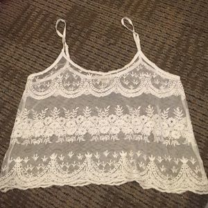 Lacey F21 Crop top