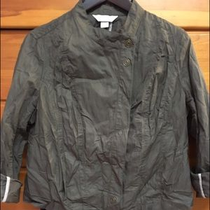 Christopher & Banks Jackets & Blazers - Christopher & Banks Jacket Army Green L