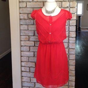 Chelsea & Violet Dresses & Skirts - Stunning Coral Pink Dress