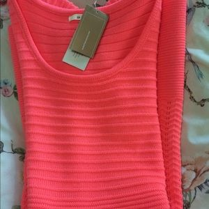 Brand new Francesca's bright coral dress!