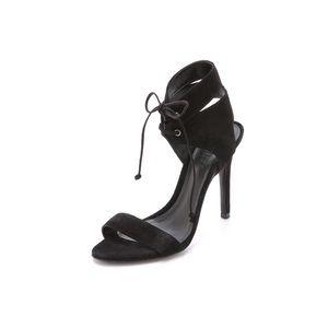 • Schutz suede heels •