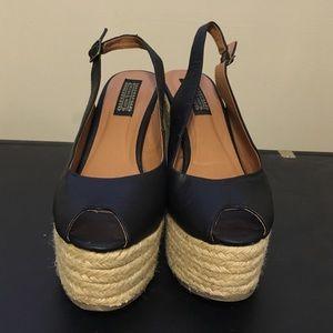 Deena & Oozzy Shoes - Deena & Ozzy super high platform espadrilles