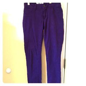 AKA New York Denim - LIKE NEW purple skinny jeans!