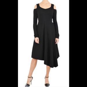 eshakti Dresses & Skirts - New Eshakti Asymmetrical Knit Dress XS 2