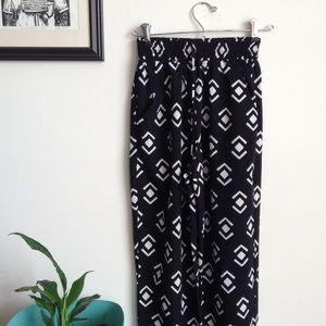 Pants - Dressy tribal print pants