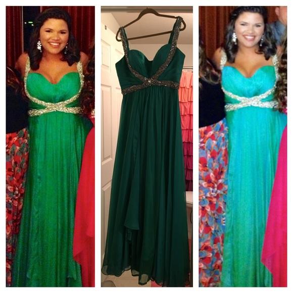 Sherri Hill Dresses Size 16 Altered To 14 Prom Dress Poshmark
