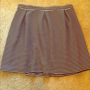 Cynthia Rowley Midi Skirt - Black & White