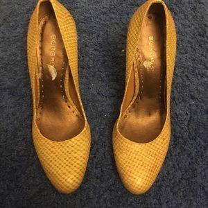 BCBGirls Shoes - Yellow bc bg girls shoes