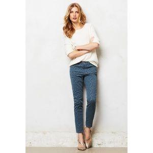 Pilcro Stet Ankle Flocked Jeans